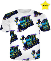 Trains Kids Tee