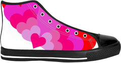 Hearts High Top Shoes
