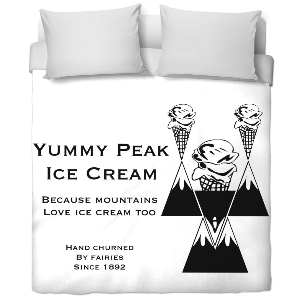 Yummy Peak Duvet Cover