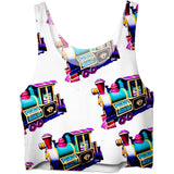 Trains Crop Top
