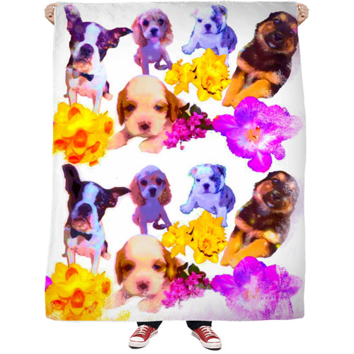 Puppy Dreams Fleece Blanket