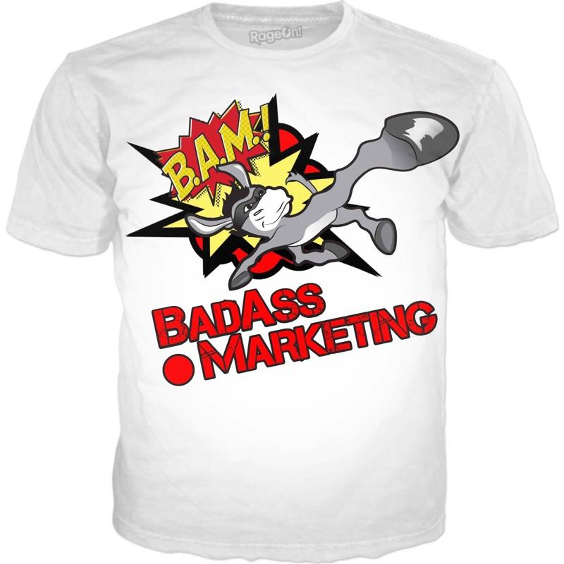 Badass.Marketing Tee