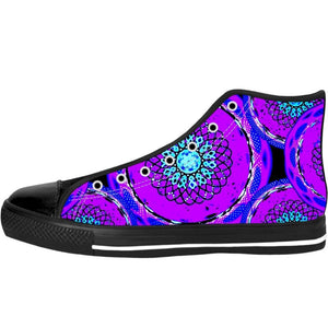 Purple Haze High Top Shoes