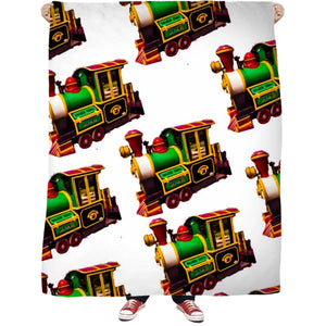 Trains Fleece Blanket