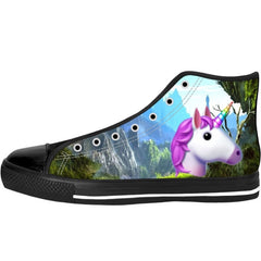 Unicorn Emoji High Tops