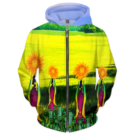 Embrace the Sunflowers Hoodie