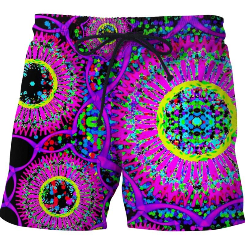 Blacklight Daydream Swim Shorts