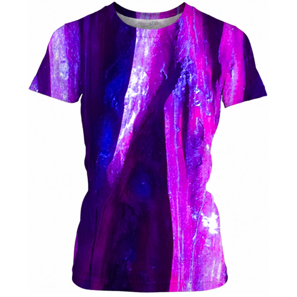 Fuchsia Wood Ladies Tee