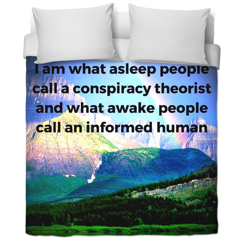 Awake Duvet Cover
