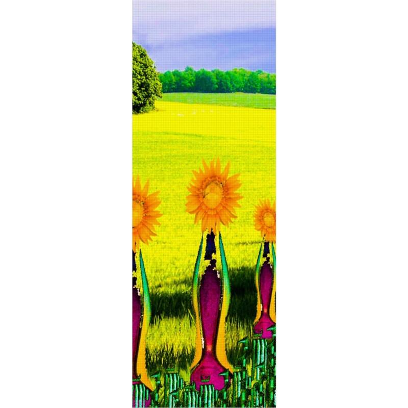 Embracing Sunflowers Yoga Mat