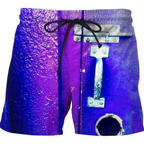 Padlocked Swim Shorts