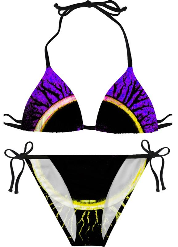 Eclipsed Purple Bikini