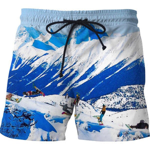 Embrace the Slopes Swim Shorts