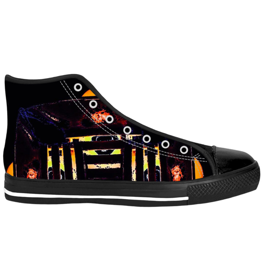 Lantern Gridlock High Top Shoes