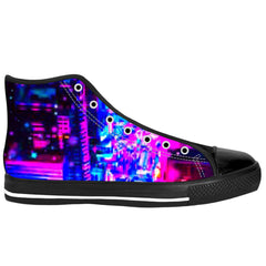 Neon NYC High Top Shoes