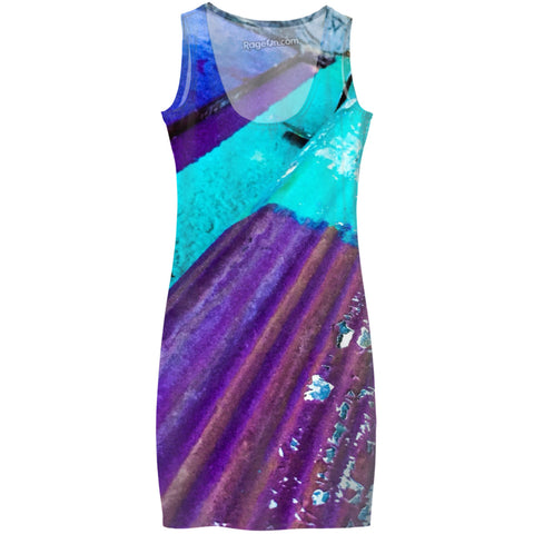 Flaked Paint Dress
