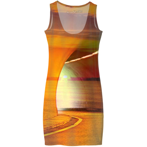 Sunset Tunnel Dress