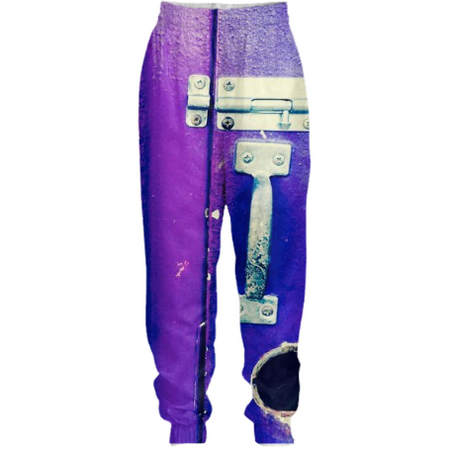 Padlocked Tracksuit Pants