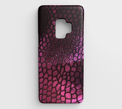Purple Scales Galaxy S9 Phone Case