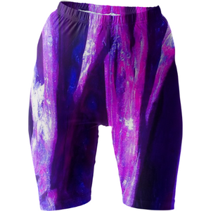 Fuchsia Wood Bike Shorts