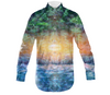 Rainforest Waterfall Men's Dress Shirt