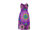 Blacklight Daydream Summer Dress