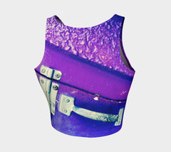 Padlocked Athletic Crop Top