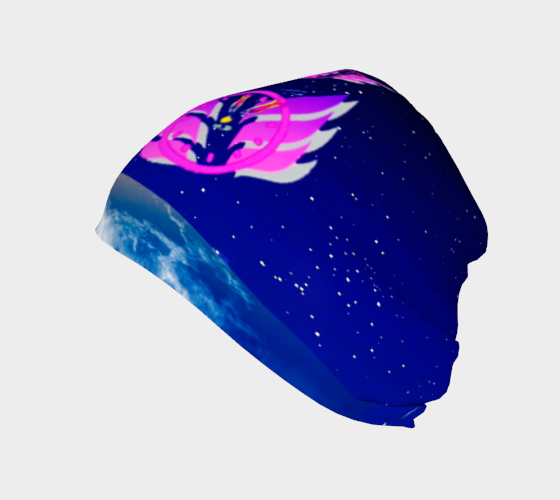 Time Flies in Space (Venus Embrace) Beanie