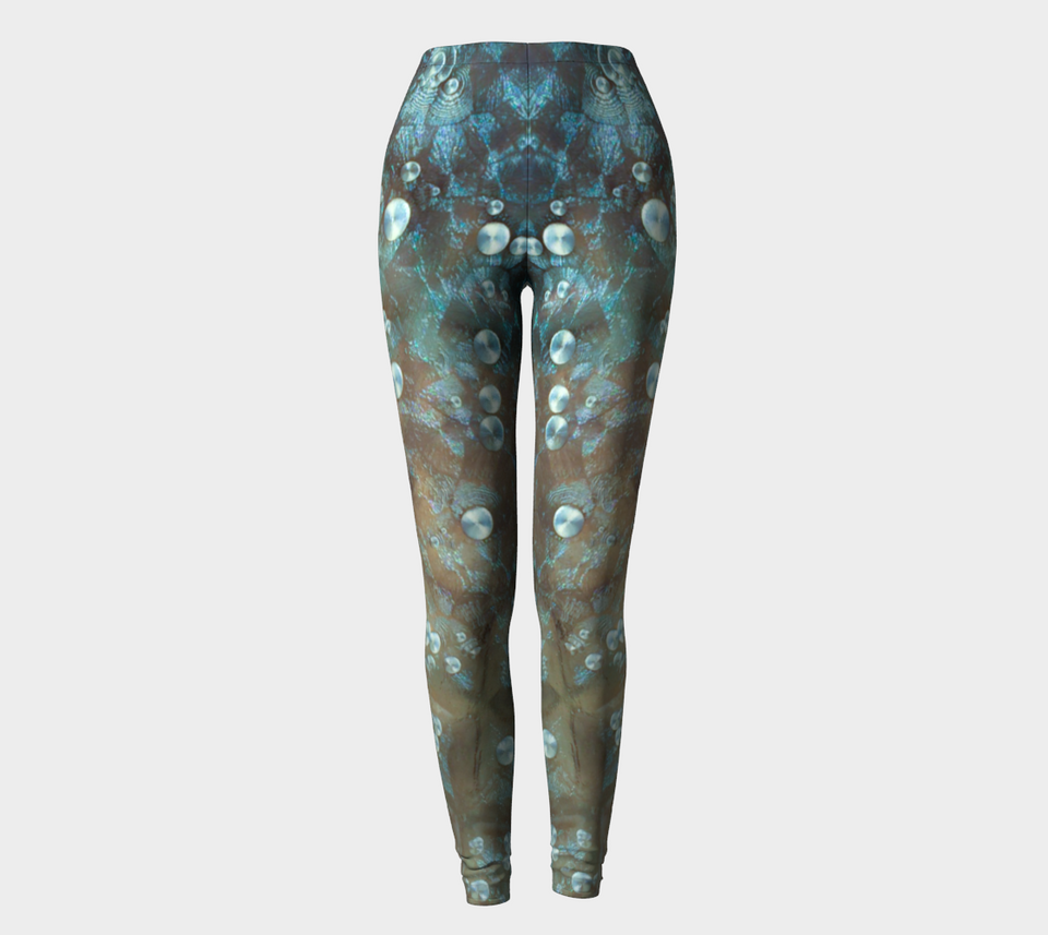 Aqua Bubbles Leggings