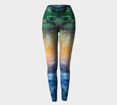 Rainforest Waterfall Leggings