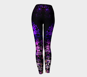 Bubble CrossStitch Leggings
