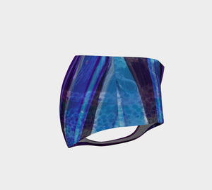 Fluorite Lanes Mini Shorts