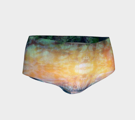 Rainforest Waterfall Mini Shorts