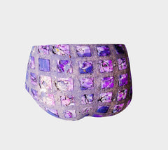 Amethyst Sidewalk Mini Shorts
