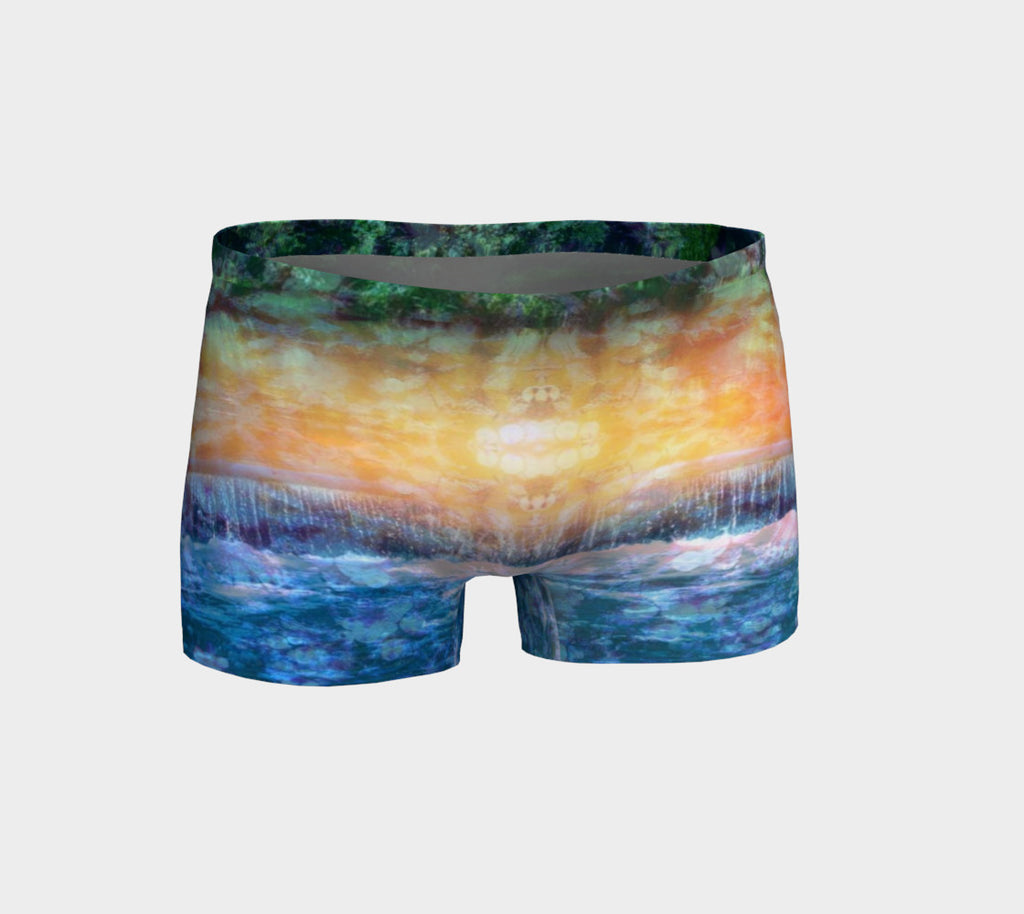 Rainforest Waterfall Shorts