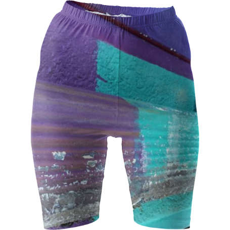 Flaked Paint Bike Shorts
