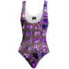 Amethyst Sidewalk Swimsuit