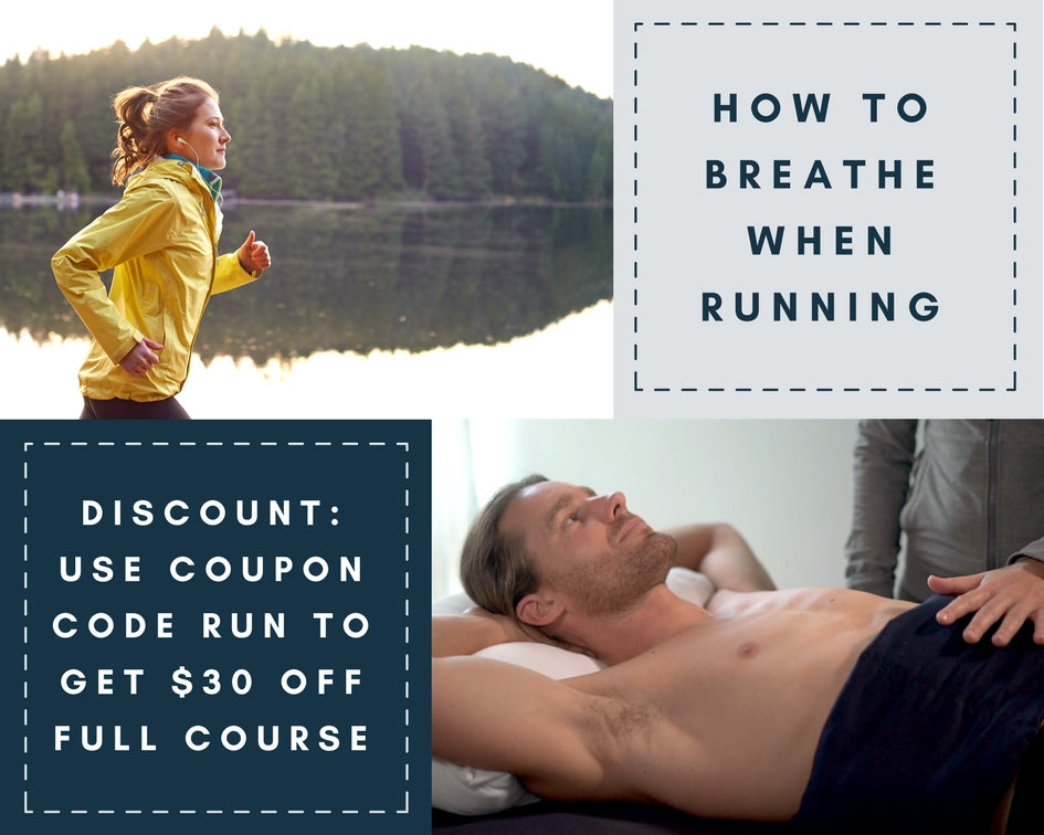 Running discount for The Big Exhale breathing course for runners