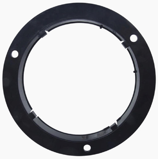 "Optronics A45BB Black Plastic Mounting Flange For 4"" Lights"