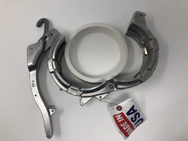 "BTI Coupler A1 5""x3'', With Solid Gasket, Cam Handle"
