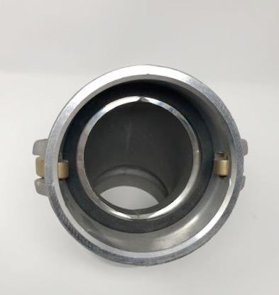 PT Coupling Elbow 4'' by 45 Aluminium