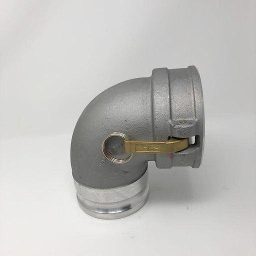 PT Coupling Elbow 4'' by 90 Aluminium