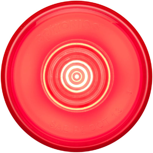 "Optronics GloLight Red 2"" Grommet Mount Marker/Clearance Light"
