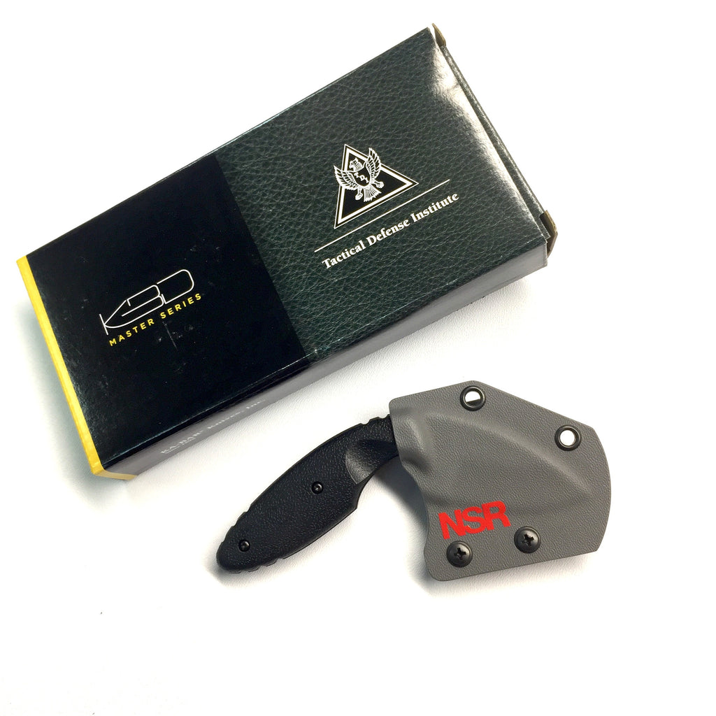 Belt mounted horizontal knife sheath