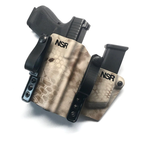 Custom Appendix-EDC Light Bearing Holster/Magazine Pouch Combination
