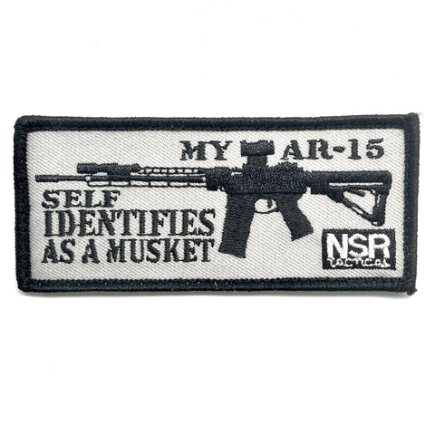 NSR My AR Self Identifies as a Musket patch