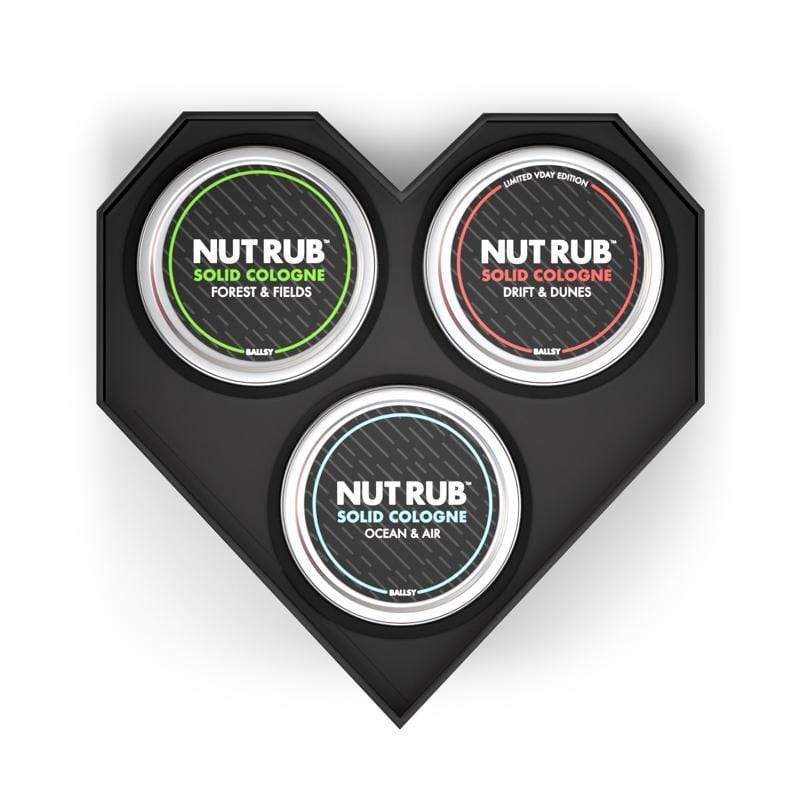 You're Incrediballs Solid Cologne Nut Rub Set