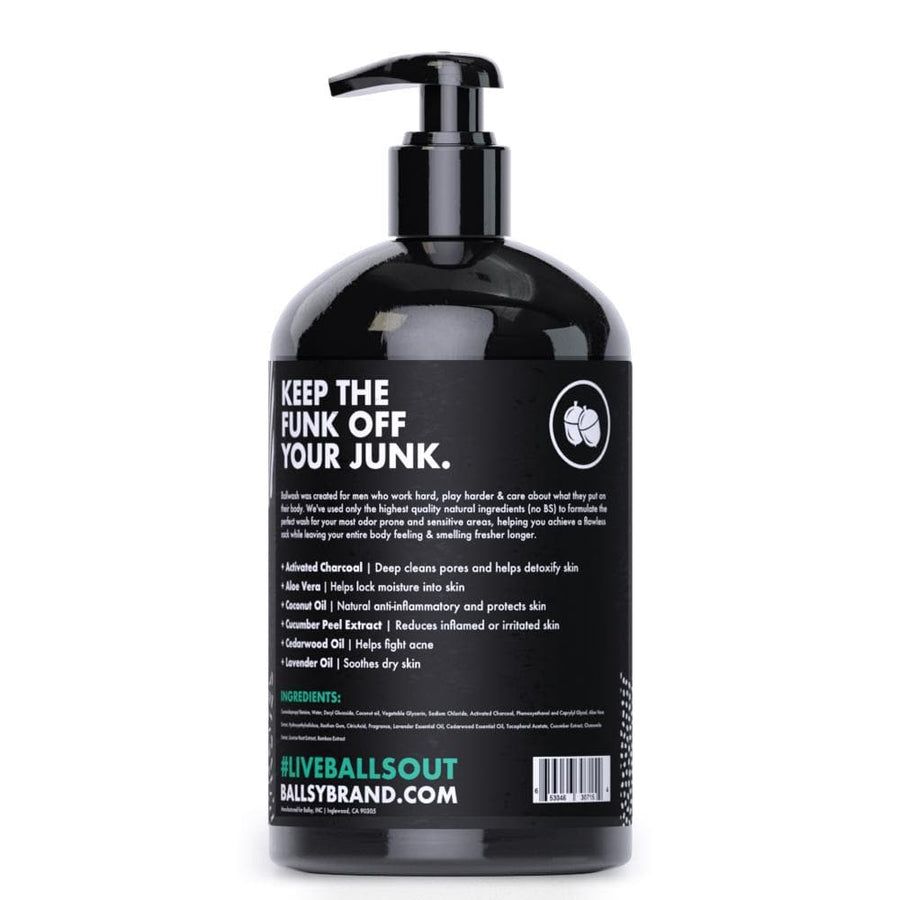 Ballwash XL Activated Charcoal Body wash