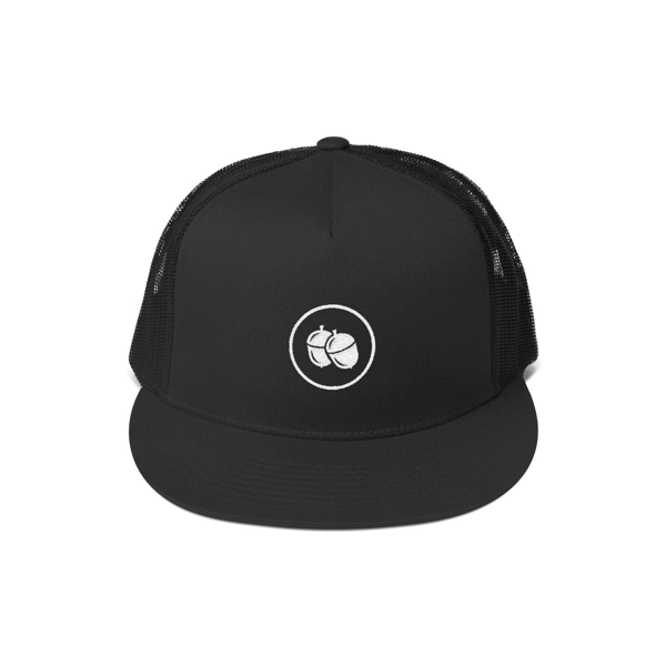Go Nuts Black Snapback