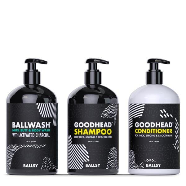 Ballwash, Goodhead Shampoo & Conditioner
